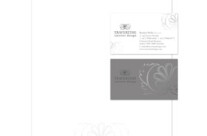 Travertine Interior Design Stationery