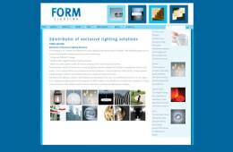 Form Lighting Website