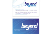 Beyond Promotions Business Cards