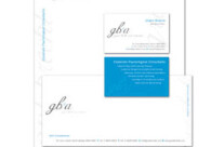 Grant Brecht + Associates Stationery