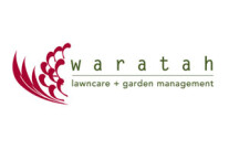 Waratah Lawncare + Garden Management Logo