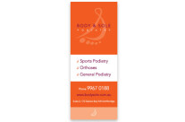 Body + Sole Podiatry Pull-up Banner